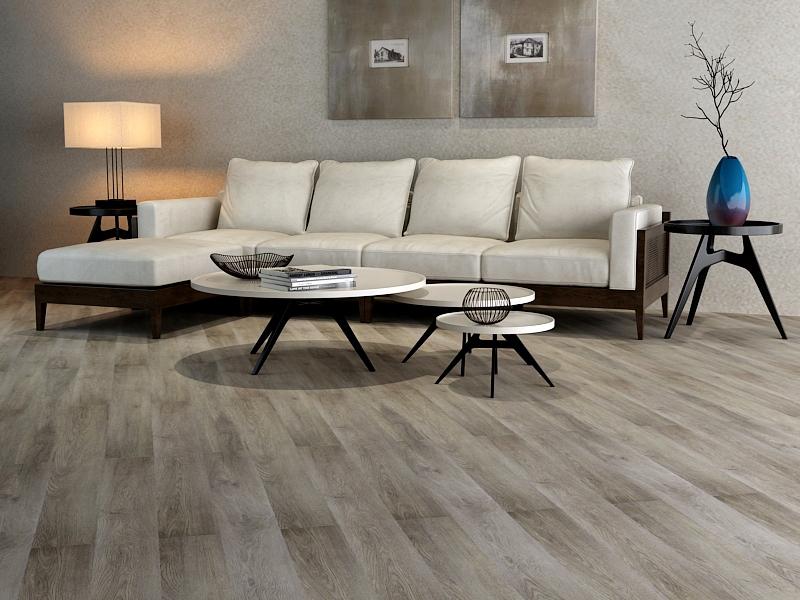 ПВХ плитка Floor Click М 7054-1 Дуб Тана (2)