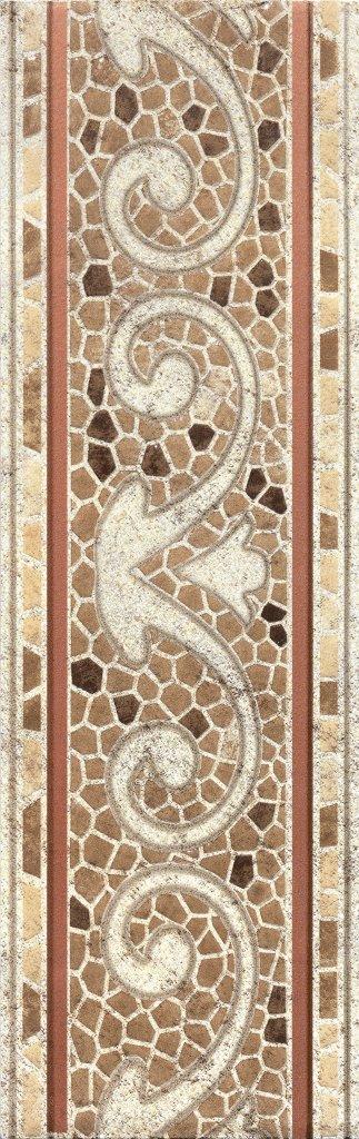 Бордюр напольный Тенерифе 3604-0103 14×45 серый Ласселсбергер