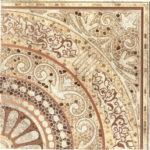 Панно напольное Тенерифе 3609-0002 90×90 серое Ласселсбергер