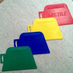 Шпатель Пластиковый Цветной