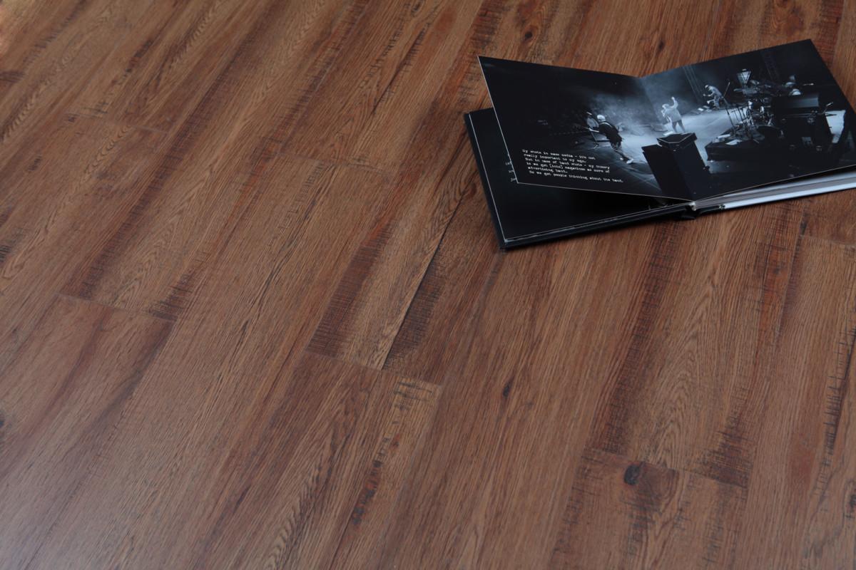 Кварц-виниловая плитка М 9055-6 Дуб Ротондо Floor Click